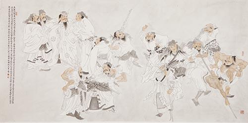 古风·怡韵--刘成海工笔画精品展27日于成都开幕