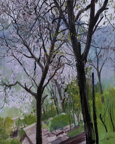 画景·化境——朱沙油画写生作品展将于12月28日在渝开幕