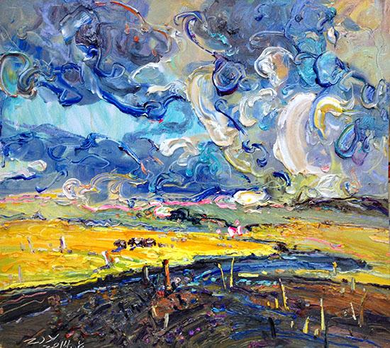 大地之歌——张继渝风景油画写生作品展将于5月17日在