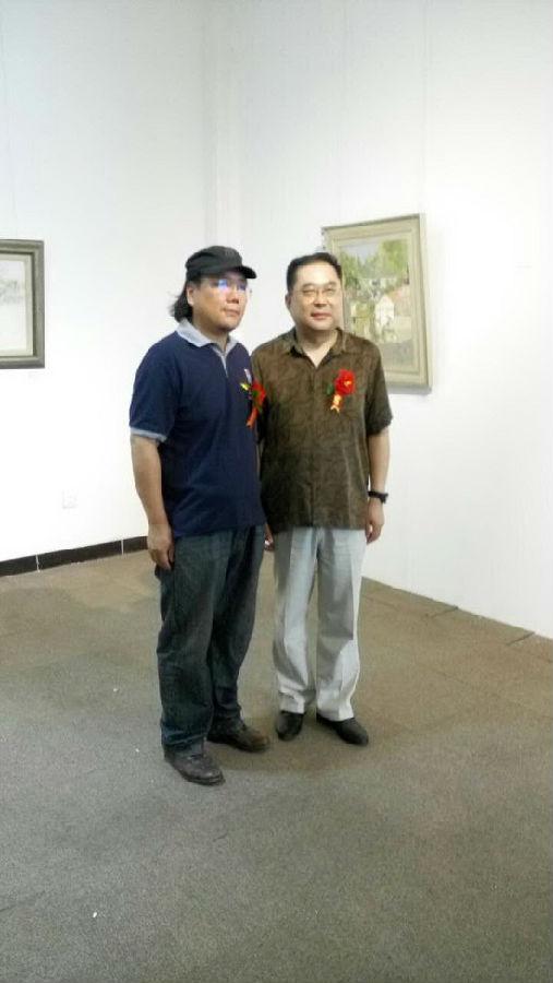 峨庄印象——李海油画作品展在北京开幕