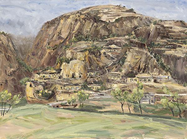 与风景的对话——四川名家风景油画作品展将于8月16