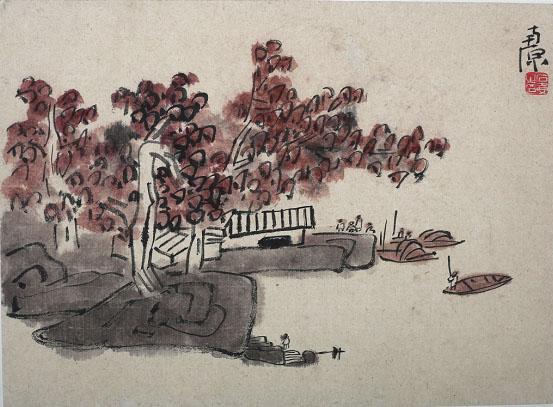 陈子庄民间收藏作品展将于9月24日在成都艺光斋开展