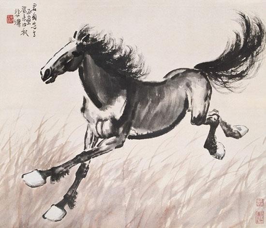 马在古代生活中占有重要地位,其形矫健,其态潇洒
