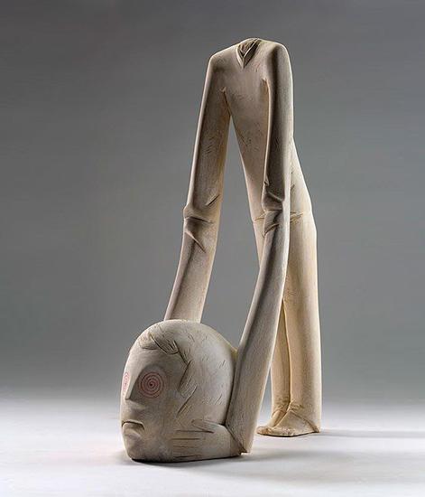 【赏析】意大利雕塑家ivan木雕作品赏析(图)