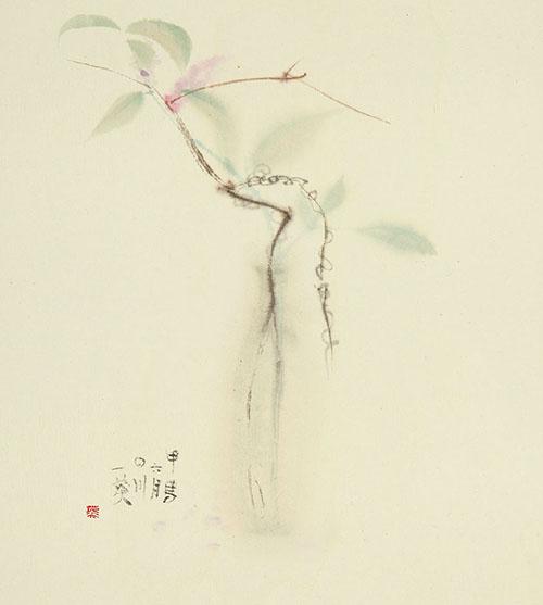 自在飞花 魏葵水墨人物 草虫 花卉雅集将于10月亮相成都岁月艺术馆 -