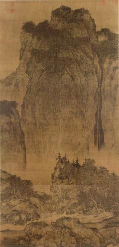 融,大地苏醒,草木发枝,一片欣欣向荣的景象.   中国古代书画皆令