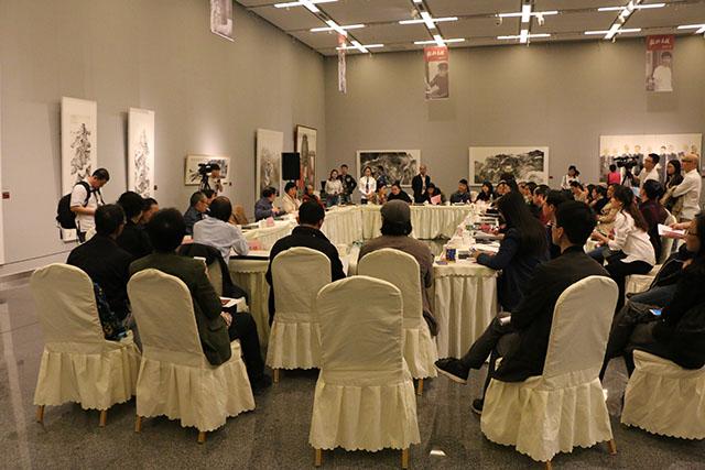 四川省诗书画院和成都画院专职画家学术双年展开幕