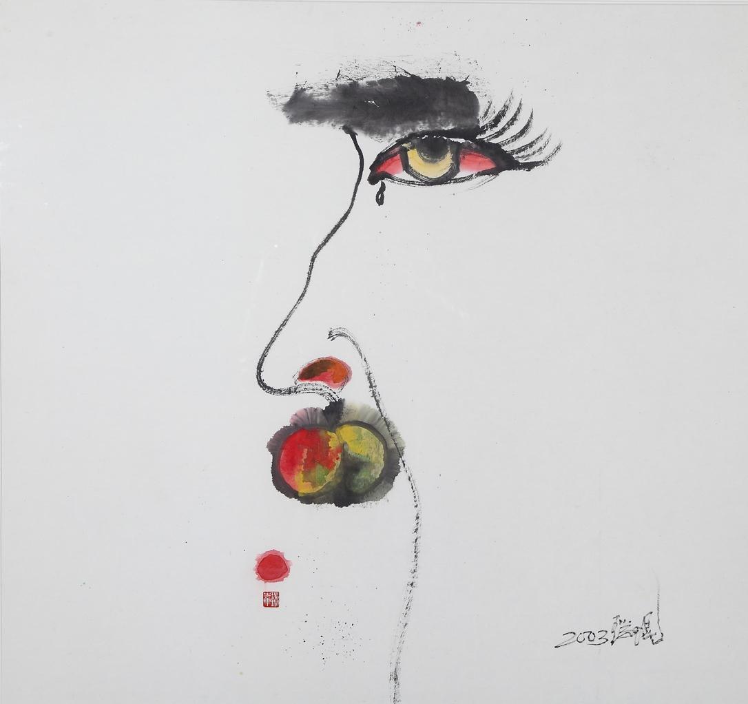 叶瑞琨抽象画作品-叶瑞琨