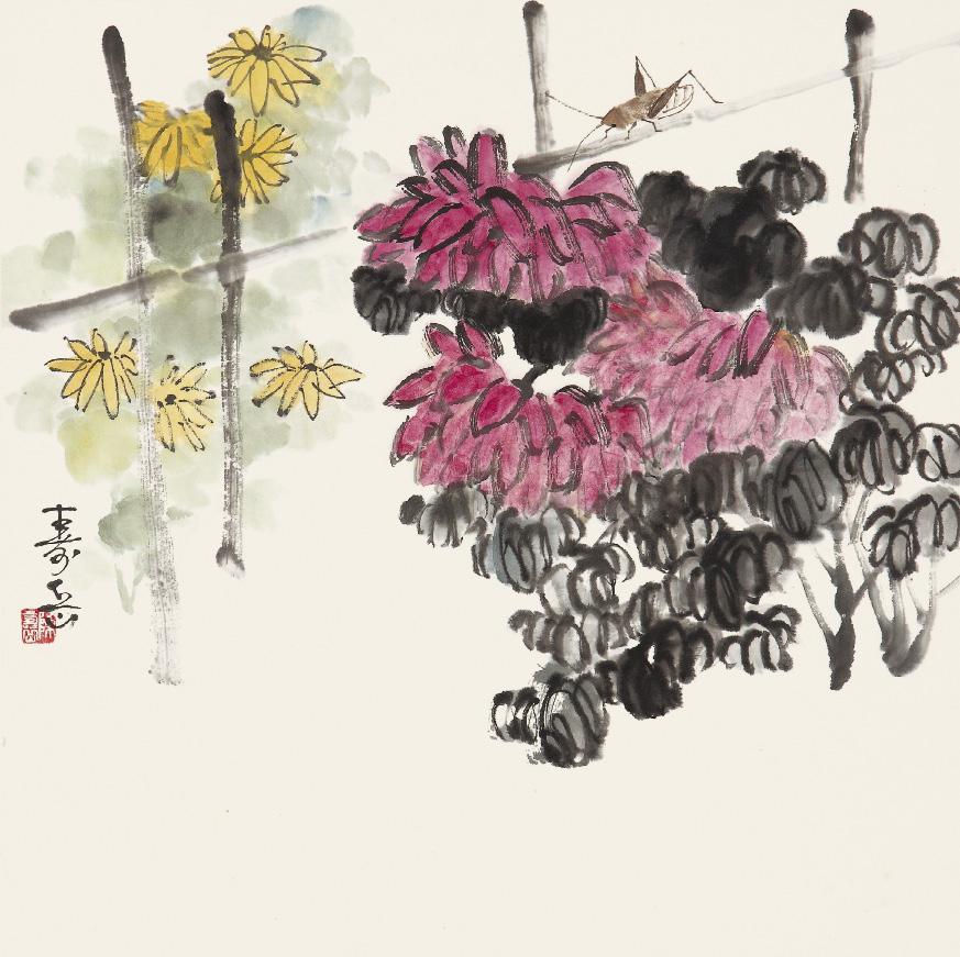 【七绝】咏菊 (一)  《古韵诗社第30期作业》